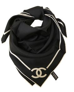 22bee0d3160a Chanel Scarf Scarves Chanel Scarf, Louis Vuitton Scarf, Closet Accessories,  Silk Scarves,