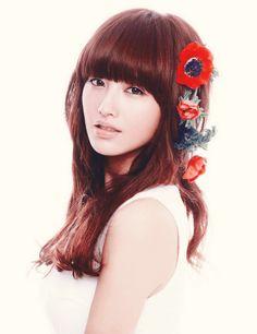 JaeKyung - RAINBOW. Reddish brown hair~~