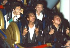 Hilarious Rollercoaster Reaction - Image