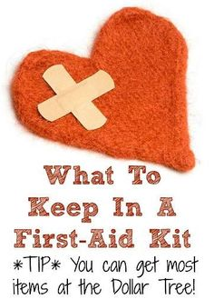 What To Keep In A First-Aid Kit - As we're heading into warmer weather, you. - health and beauty Emergency Supplies, Emergency Preparedness, Emergency Kits, Survival Prepping, Survival Gear, Easy Diy Crafts, Fun Crafts, Camping First Aid Kit, Keep On