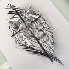 Yogi Tattoo, C Tattoo, Chest Tattoo, Family Tattoo Designs, Lion Tattoo Design, Family Tattoos, Pretty Tattoos, Love Tattoos, Body Art Tattoos