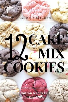 My Top favorite Cake Mix Cookie Combinations. - My Top favorite Cake Mix Cookie Combinations. Who knew that a cake mix cookie could be even better? Holiday Cookie Exchange made easy… Source by Cake Batter Cookies, Cookies And Cream Cake, Cake Mix Cookie Recipes, Chip Cookie Recipe, Easy Cheesecake Recipes, Chocolate Cookie Recipes, Chocolate Chip Cookies, Cupcakes, Butterfinger Cookies