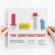 livre / maquettes architecture moderniste russe