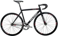 Raleigh Equipe pista track ss black 2014