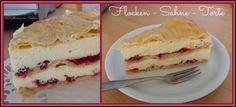 ich hab da mal was ausprobiert: Karins Flocken - Sahne - Torte