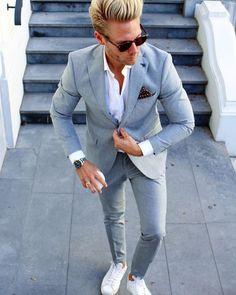 Мужская мода новый черный