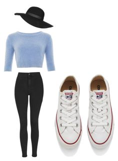 """boy f and girl f time"" by aliyahlarose on Polyvore featuring Topshop, Converse, women's clothing, women's fashion, women, female, woman, misses and juniors"