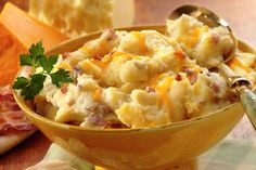 Country Style Mashed Cheddar & Bacon Potatoes | Sargento Cheese