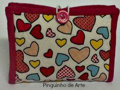 Pinguinho de Arte: (PAP) Porta Absorventes
