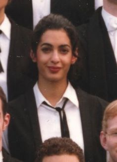 PHOTO GALLERY: Young Amal Amalmuddin as a college freshers photo at St Hugh's Oxford University in 1996