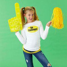 Ceiling fan Halloween costume - hahaha