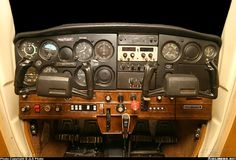 Cessna 152 instrument panel - this is the plane I did all my primary flight training in, all the way to getting my Private Pilot's License (PPL). Plane And Pilot, Jet Plane, Cessna 150, Private Pilot License, Angel Flight, Flying Lessons, Pilot Training, Private Plane, Aircraft Pictures