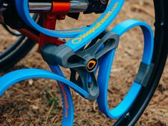 Smart wheel with shock absorber.