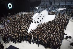 Virgin Galactic unveils new spaceship that could take tourists to space. At an altitude above 62 miles, passengers will see the Earth below. Aviation Blog, Natalie Imbruglia, Richard Branson, Stunts, More Photos, Unity, How To Look Better, Celebrities, Planes