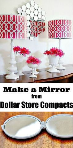 Dollar stores tend to get a bad rap. When you think of the low priced items they carry, we judge it as low quality and let's be honest, 'cheap looking' stuff. It may be time for you to give your neighborhood store another chance. Here are some really cool DIY projects that look like they were bought at a boutique.