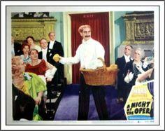 A Night At The Opera Lobby Card (1935)