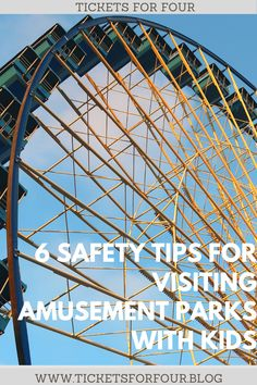 6 Safety Tips for Visiting Amusement Parks with Kids:Amusement Parks or Theme Parks are any kid's dream land! It can also be a nightmare for parents with so many things to worry about. Here are 6 Safety Tips for Visiting Amusement Parks. #TravelTips #TravelHacks #AmusementParkTips #ThemeParkTips #TravelWithKids #HowToBeSafeWhileTravelling #SafeAmusementParks Solo Travel Tips, Travel Info, Travel Hacks, Travel Advice, Travel Guides, Canada Travel, Travel Usa, Travel Couple, Family Travel