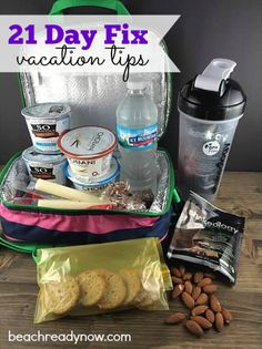21 Day Fix on Vacation: Staying on Track While Traveling - Beach Ready Now