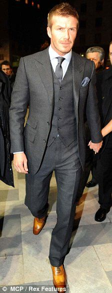 Not gonna lie...definitely one of my best dressed celebrity. Becks got style for days!