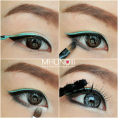 Blue Liner Asian Eye MakeUp