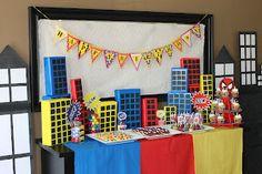 Spiderman Birthday Party