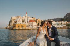 Santorini, Greece wedding photo shoot inspiration by Theodoros Chliapas…