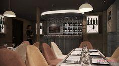 Montyu0027s Wine Bar, London. Designer: Steve Howie By Steve Howie Design, Via