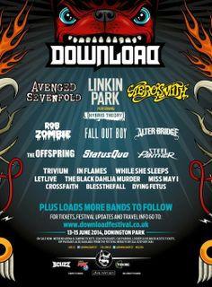 Download Festival 2014 Download Festival Announce More Bands