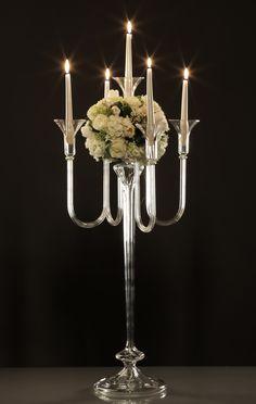 Gabriela Seres- Classic-modern home decor and event handmade glassware Gabriel, Candleholders, Candelabra, Wedding Decorations, Chandelier, Vase, Ceiling Lights, Handmade, Beautiful