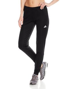 Adidas Performance Women's Core Training Pant, X-Small, Black/White