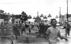 A mighty tsunami at least three times the size of the destructive 1946 tsunami, its aftermath pictur... - USGS