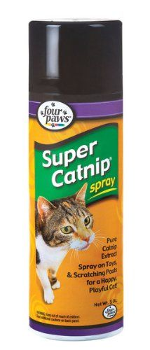 Four Paws Super Catnip Cat Toy Spray -- Check this awesome product by going to the link at the image. (This is an affiliate link and I receive a commission for the sales)