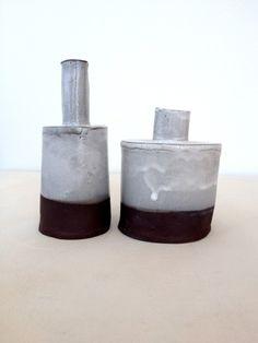 Paula Greif - terracotta bottles