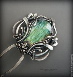 Купить серебряная шпилька Тюльпан маленький - серебряный, серебряные украшения, серебряная шпилька, шпилька серебро Hair Jewelry, Body Jewelry, Jewelry Art, Fashion Jewelry, Wire Wrapped Necklace, Wire Wrapped Pendant, Circlet, Metal Clay, Diy Jewelry Making
