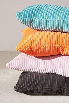 Carmo Oversized Corduroy Throw Pillow   Urban Outfitters