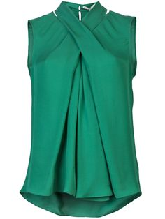 HALSTON HERITAGE Sleeveless top