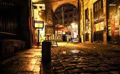paris streets at night - Google Search