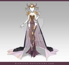(CLOSED) Adoptable Outfit Auction 116 by Risoluce.deviantart.com on @DeviantArt