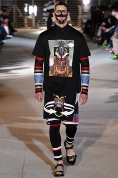 Givenchy Spring 2014 men's collection #printedmatter
