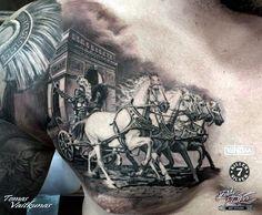 Valiant Gladiator Tattoo Designs (16) #AwesomeTattooIdeas