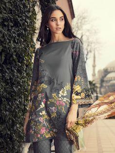Graceful grey unstitched pret dress by Rajbari spring collection 2018#springcollection #spring #readytowear #pretwear #unstitched #online #linen #lawncollection #linen #linencollection #chiffon #cotton #embroidered #printed #digital #lahore #karachi #islamabad #newyork #london #pakistan #pakistani #indian #alkaram #limelight #nishat #khaddar #daraz #gulahmed #2018 #blackfriday #pakistani_dresses #best_price #indian_dresses  #eid #eiddresses #eidcollection