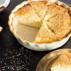 Schmeckt nach Urlaub und bringt dich zum Staunen: 1 Teig kommt in die Backform und aus dem Ofen kommt ein köstlicher Kuchen mit 3 Schichten. Magie!