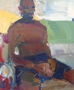 Jennifer Pochinski, oil on canvas, 28 x 24 in.