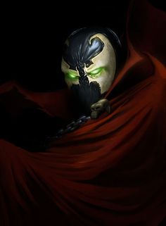 Just a fan art portrait I did when I discovered Todd McFarlane wanted to reboot Spawn for Spawn Dc Comics Superheroes, Marvel Dc Comics, Mortal Kombat Games, Marvel Wallpaper, Image Comics, Spawn, Ghost Rider, Comic Book Characters, Dark Horse