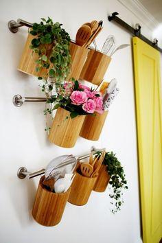 Vertical Kitchen Organization