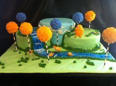 Amazing Lorax-themed birthday cake!