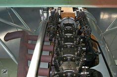 Some detail shots from the Albatros D.II - The Vintage Aviator Aircraft Engine, Aviation Art, Zeppelin, Scale Models, Airplane, Restoration, Engineering, Military, Vintage