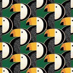 Geometric Bird Pattern Art Prints New Ideas Bird Patterns, Graphic Patterns, Cool Patterns, Print Patterns, Motifs Textiles, Textile Patterns, Textile Prints, Art Prints, Geometric Bird