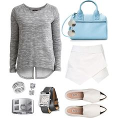 This sporty chic look by leinad is this week's featured #PolyvoreOOTD! Love it? Let her know: http://polyv.re/1qQaGS5  Keep 'em comin' on Instagram. Just tag your outfits #PolyvoreOOTD to be featured next week :)
