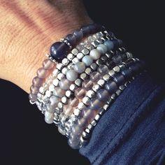 Bracelet combination, handmade Beaded Bracelets, Pure Products, Handmade, Jewelry, Hand Made, Jewlery, Jewerly, Pearl Bracelets, Schmuck
